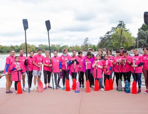 Alberche Kayak con la lucha contra el cancer de mama