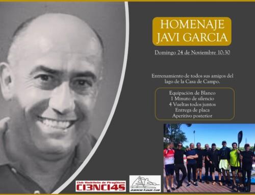 Homenaje Javi Garcia